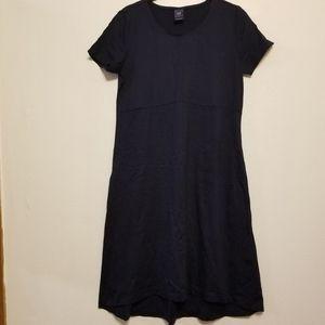 Gap Maternity navy A-line T-shirt dress